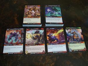 World Of Warcraft---Tomb & Elements---Lot Of 42---Dupes---NrMt