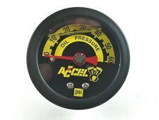 Harley Davidson Black Liquid Filled Oil Pressure Gauge 60 psi Road King Glide