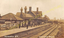 Mildenhall Railway Station Photo. Isleham and Fordham Line. Great Eastern. (21)