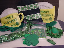 St. Patrick's Day Party Pack with Hats and Decorations