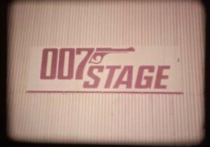 Super 8mm sound film 'Pinewood Studios'. James Bond.
