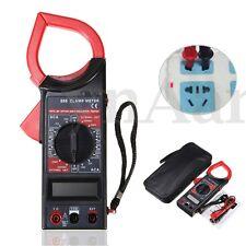Digital Pince Multimètre Voltmètre Ampèremètre Ohmmètre Pr AC DC Tension Testeur