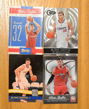Blake Griffin (4) Four card Lot. 2010-11 Panini Classics Certified Donruss etc.