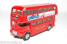 BUDGIE TOY AEC ROUTEMASTER LONDON TRANSPORTER BUS UNIFLO MOTOR OIL EXCELLENT