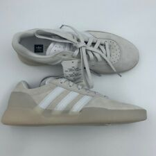 Adidas Mens City Cup Skateboarding Shoes White Lace Up Low Sneakers B22726 7 New