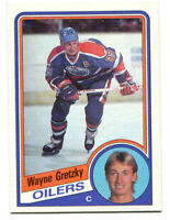 1984-85 Topps Wayne Gretzky Card #51 Edmonton Oilers