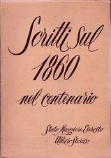 LIBRI - Scritti sul 1860 nel centenario