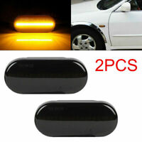 2× répéteurs indicateur lumineux signal marqueur latéral dynamique LED pr VW T5