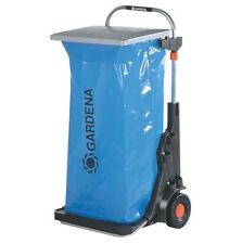 GARDENA Gartenmobil Gartenabfallbehälter Abfallbehälter Metall (232)