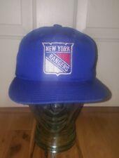 VTG Annco Professional model NHL New York Rangers Snapback Hat hockey Blue