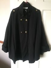 WOMENS BLACK TS 14 + VIRTUELLE ROSEMORE CAPE XXS - XS M RRP 129.95 GR8 4 WINTER