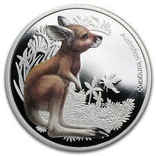 2010 Australia 1/2 oz Silver Bush Babies Kangaroo Proof