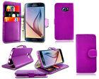 pelle flip portafoglio telefono custodia per Samsung Galaxy S6 EDGE SM-G925+