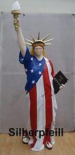 Amerikanische Freiheitsstatue Liberty Statue Lebensgroß New York USA Figur F