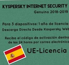 Kaspersky Internet Security| 2018/2019|3 Multi Devices|1 Year License Download
