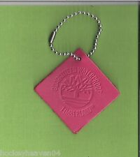 1- Leather Timberland  Pink  Key Chain