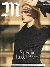 M LE MAGAZINE DU MONDE N°220 05/12/2015  SPECIAL LUXE/ LUZ/ PICASSO/ VALBUENA