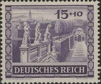 Stamp Germany Mi 805 Sc B199 1941 WWII 3rd Reich Vienna Fair Belvedere MNG