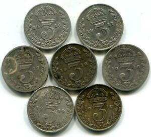 Scrap Sterling Silver Coins C064