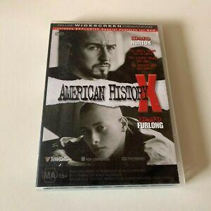 American History X (DVD, 2000) Region 4 - Edward Furlong, Edward Norton