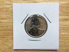 1991 Canadian Quarter RARE KEY DATE BU MINT UNC *FROM ORIGINAL RCM ROLL