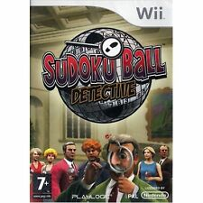 Nintendo Wii PAL version Sudoku Ball detective