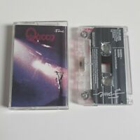 QUEEN S/T SELF TITLED 1ST ALBUM CASSETTE TAPE EMI FAME UK 1985