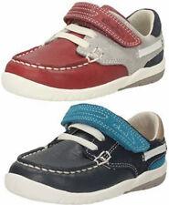 Chaussures rouges en cuir pour garçon de 2 à 16 ans
