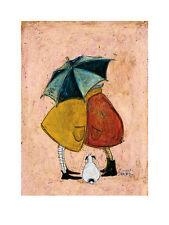 DOG ART PRINT A Sneaky One Sam Toft