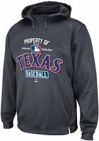Texas Rangers Authentic Hoodie Property Of On Field Collection Therma Base MLB