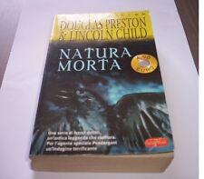 NATURA MORTA Preston - Child romanzo Superpocket THRILLER libro