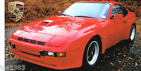 1980 PORSCHE 924 CARRERA GT SPEC SHEET / Brochure / Flyer