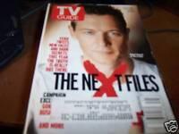 TV Guide 11/4-10 2000 Robert Patrick X-Files