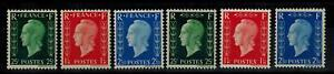 """(a1) timbres France n° 701A/701F neufs** année 1942 """"signés et certificat"""""""