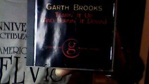TEARIN IT UP & LAYIN IT DOWN GARTH BROOKS 1998 PEARL/CAPITOL PROMO CD SINGLE EX-