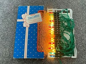 Vintage RARE Pifco 20 Electronic Christmas Tree Lights - 1355 Xmas Festive Boxed