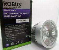 Robus Longer Neck GU10 LED Bulb Lamp 5W 4000k COOL WHITE 71 TOTAL LENGTH x50mm