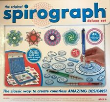 Original Hasbro Spirograph Deluxe Set Classic Drawing Art Game Toy 45 Piece