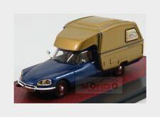 Citroen Id Ds Camper 1973 Blue Gold MATRIX 1:43 MX50304-061