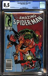 AMAZING SPIDER-MAN #257 (1984 Marvel) CGC 8.5 VF+ Hobgoblin, NEWSSTAND