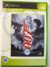 XBOX CLASSIC JUEGO 007 TODO oder nada, USADO PERO BUENO