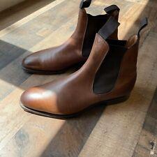 Edward Green Camden Chelsea Boot UK 7.5 US 8 Walnut Brown
