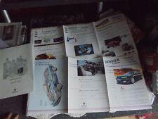 Dossier Usine Renault Le Mans Laguna 1994 et Twingo 1993