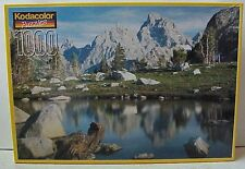 "1000 pc jigsaw puzzle ""Cascade Canyon, Wyoming"" Kodacolor RoseArt sealed box"