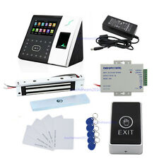 ZK iface702 Face Time Asistencia Sistema de control de acceso Kit Magnetic Lock