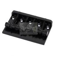 Musiclily Black Bridge For 4 String Electric Precision Jazz Bass PB JB Style New