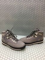 Timberland Euro Hiker Gray Leather Lace Up Hiker/Trail Boots Men's Size 9.5 M