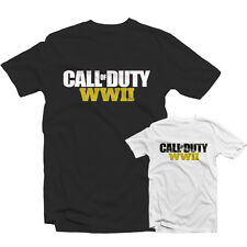 CALL OF DUTY WWII T SHIRT 1576 - WW2 Ps4 Gamer Zombies COD BO3 Nuketown WAW