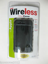 JUST WIRELESS 12311 iPhone 3G Fitted Cover BLACK FACTORY SEALED !!!
