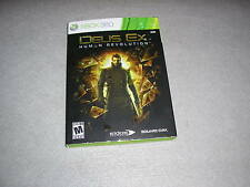 Deus Ex Human Revolution for Xbox 360 COMPLETE TESTED & WORKING Game